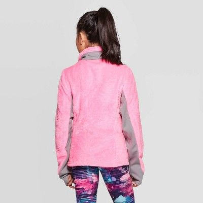 shoes for cheap wide varieties exclusive shoes Girls' Fleece Jacket - C9 Champion Pink XS, Girl's | Girls fleece ...