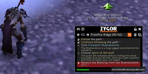 Unlock The Full Warlords Of Draenor Experience With Zygor With Images Warlords Of Draenor World Of Warcraft News Unlock