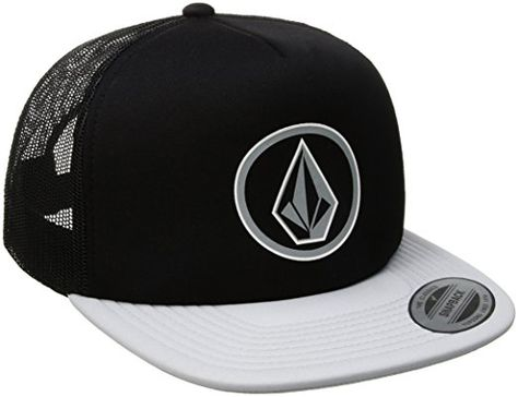 quality design bb438 66893 Volcom Men s Full Frontal Cheese 5 Panel Trucker Hat, Pewter, O S at Amazon  Men s Clothing store