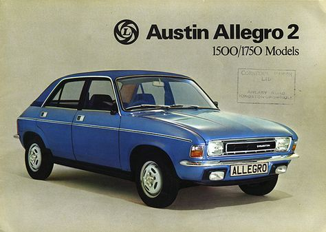 Austin Allegro Not Exactly The Sweeney But It Ll Do Nicely Around Corners British Cars Retro Cars Commercial Vehicle