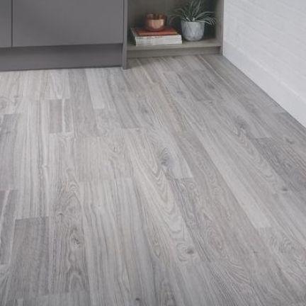 Professional Grey Oak Laminate Flooring, Rustic Gray Laminate Flooring