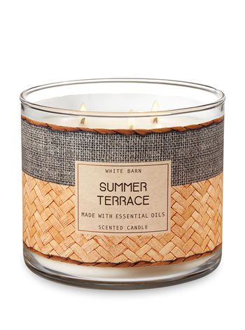 160a3ed606af6 Summer Terrace 3-Wick Candle - Bath And Body Works | Holiday and ...