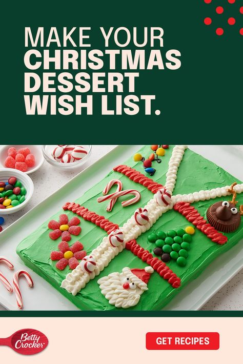 You've planned. You've shopped. Now it's time to show off. After all, Christmas wouldn't be complete without the closing act: dessert. This colorful array of cakes, cookies, and pies honor traditional recipes and will inspire you to start a few delicious new ones.