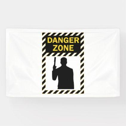 Danger Zone Sign And Silhouette Zazzle Com Danger Zone Fun Signs Dangerous