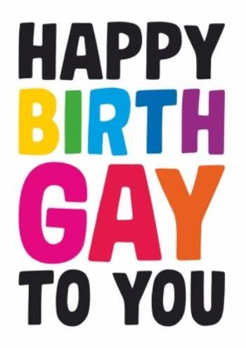 Dean Morris Happy Birthgay To You Birthday Card Moonpig Birthday Cards It S Your Birthday Job Resume Template