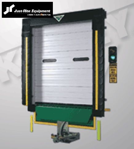 Dynaco Doors Exterior Mounted High Speed We Sell And Install Dynaco Doors Www Warehousecubed Com Modular Building Cantilever Racks Manufacturing Facility