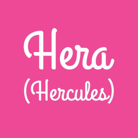 Hera - Baby Names Inspired By Disney Characters - Photos