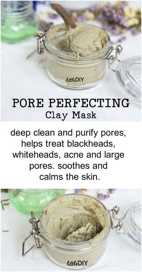 Diy Pore Perfecting Clay Mask To Minimize Pores Minimize Pores