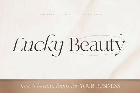 Lucky Beauty - Styled Classy Serif
