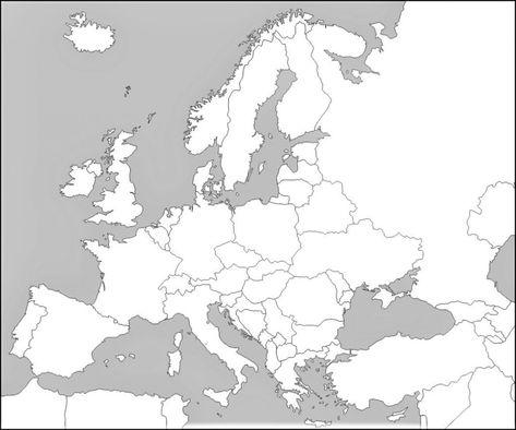 Mapa Fisic De Europa.Mapa De Europa Para Imprimir Politico Fisico