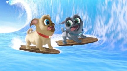 Watch Puppy Dog Pals Tv Show Disney Junior On Disneynow Dogs And Puppies Puppies Disney Junior