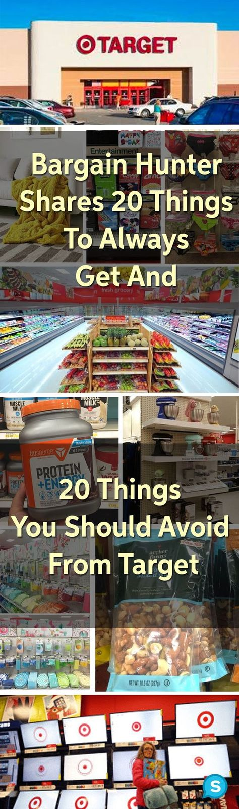 Here are the best and worst things to buy from Target. Whether you're looking for Target home decor or Target clothes, make sure you follow these Target hacks to get the most out of your trip to this store! #target #frugalliving #frugal #shopping