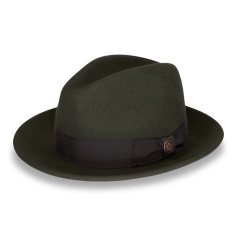 8f00d261fae1f Dean the Butcher - A classic American made wool felt A-crown fedora ...
