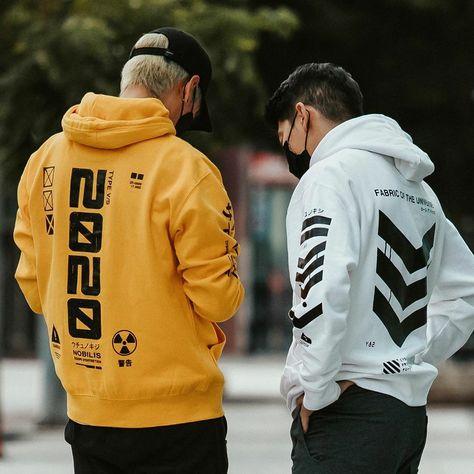Streetfashion hype techwear fits