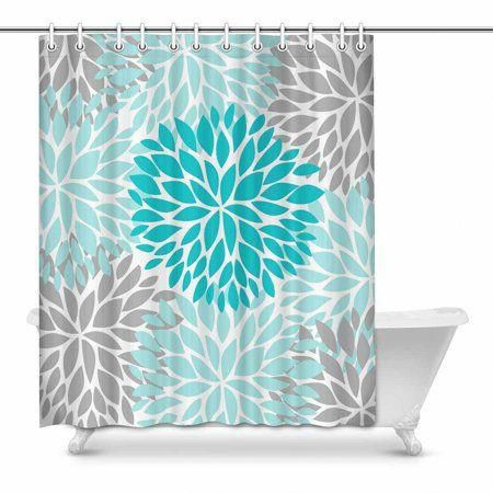 Home Blue Shower Curtains Fabric Shower Curtains Shower Curtain Sets