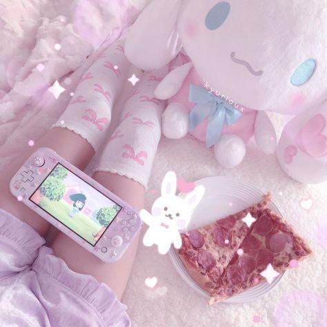 Aesthetic Backgrounds, Aesthetic Wallpapers, Princesa Emo, Baby Pink Aesthetic, Otaku Room, Kawaii Room, Pink Princess, Kawaii Cute, Cosplay