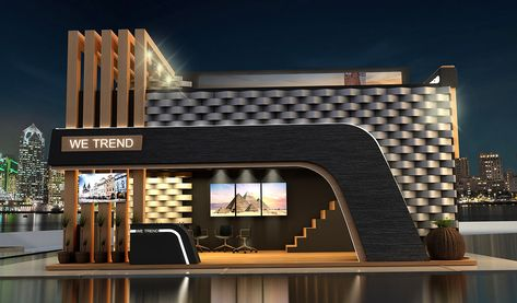 Wetrend Booth on Behance