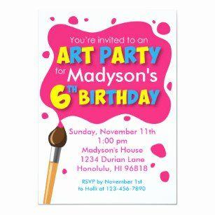 6th birthday invitation wording best of