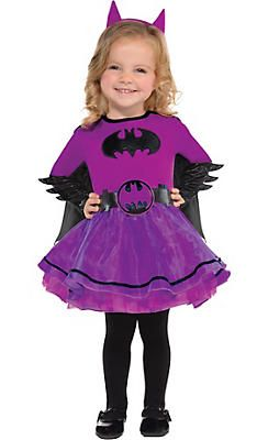 2ce0da65bb0 Baby Purple Batgirl Costume - Batman   My Alice in 2019   Little ...