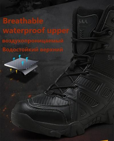 pari bruciato asciutto  Vancat Men High Quality Brand Military Leather Boots Special Force Tactical  Desert Combat Men's Boots Outdoor… | Vintage combat boots, Leather work  boots, Boots men