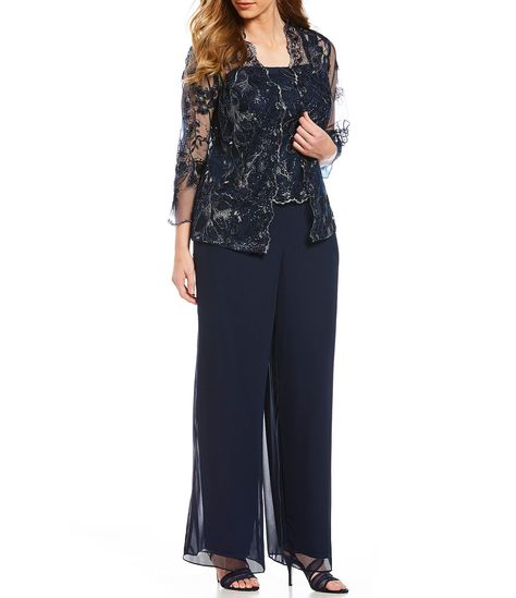 bddd670124 Shop for Emma Street Plus Size Embroidered 3-Piece Pant Set at Dillards.com.  Visit Dillards.com to find clothing