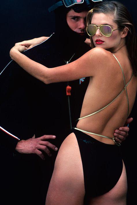 Christie Brinkley in Vogue, 1977 photo by Albert Watson.