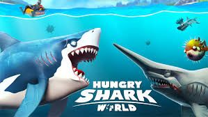 MOD APK] Hungry Shark World Hack No Human Verification