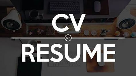 CV vs Resume The Difference and When to Use Which https - cv vs resume the differences