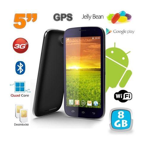 Smartphone Android 5 Pouces Telephone Debloque Quad Core 8 Go Noir Taille Tu Smartphone Android Quad