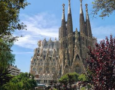 Sagrada Familia Antoni Gaudi Barcelona Kreuzfahrt Kathedrale Tolle Reiseziele