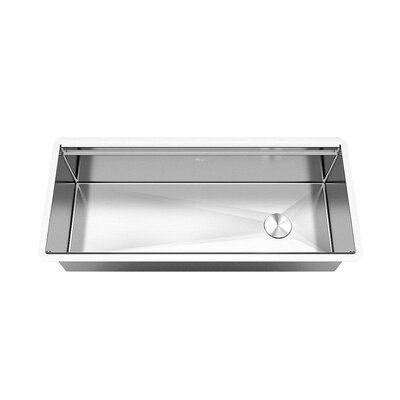 Ariel Ariel 42 L X 19 W Undermount Kitchen Sink With Basket Strainer Stainless Steel Kitchen Sink Undermount Kitchen Sinks Kitchen Sink