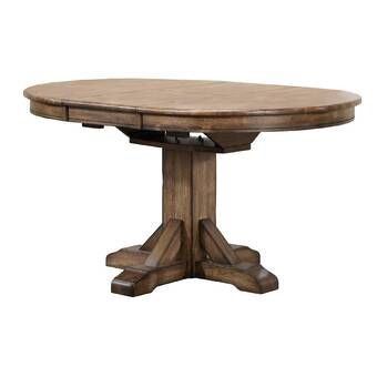 Magaw Solid Wood Dining Table Reviews Joss Main With Images