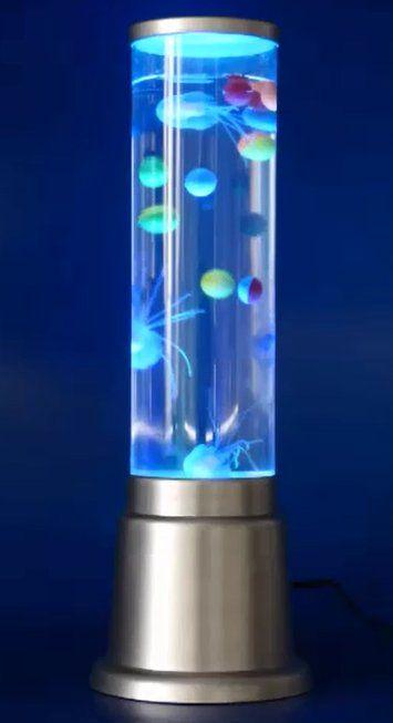 Kleine Wassersaule Inklusive Led Beleuchtung Mit Farbwechsel Lieferung Inklusive Quallen Bitte Nur Destiliertes Wasser Nehmen Wegen Der K Led Lampe Led Lampe