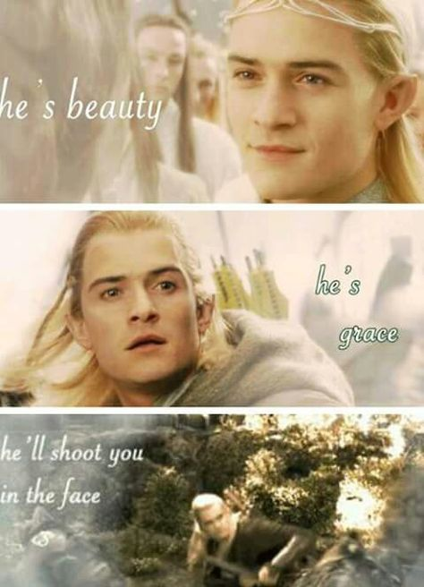 Legolas *_* wink   Fandom