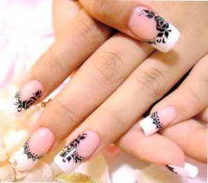 Uñas De Porcelana Nailart Decoracion Uñas Nail Design