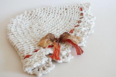 baby crochet hat 6m by jananjan, via Flickr