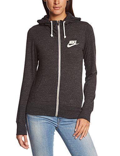 Apparel Vintage Zip 545665 Gym Nike Wmns Full Hoody 010 HnrHTq0