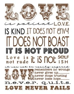 #Love verse #Printable from The Girl Creative