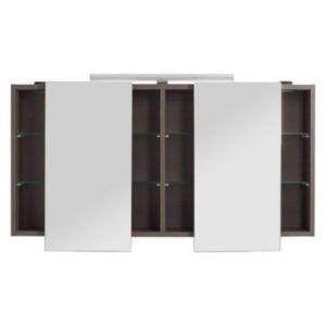 Armoire Miroir Decor Chene Fume Cooke Lewis Calao 120 Cm Avec Images Armoire Armoire De Toilette Armoire Chambre