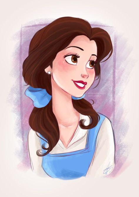 Disney's Belle by Teescha-Rinn on DeviantArt