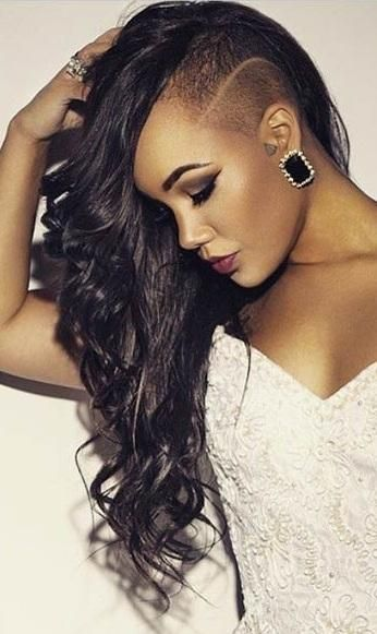 21 Most Badass Shaved Hairstyles For Bold Girl Girls Shaved Hairstyles Shaved Side Hairstyles Undercut Hairstyles Women