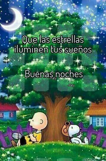 Buenas Noches Que Las Estrellas Iluminen Tus Suenos Con
