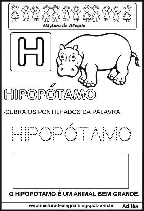 Bichonario Alfabeto Animal Para Alfabetizacao Atividades De