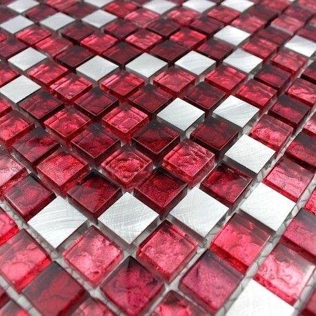 Mosaique Credence Cuisine Et Douche Slot Rouge Credence Cuisine