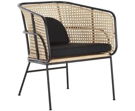 Rattan Loungestuhl Merete In 2020 Lounge Stuhl Lounge Sessel