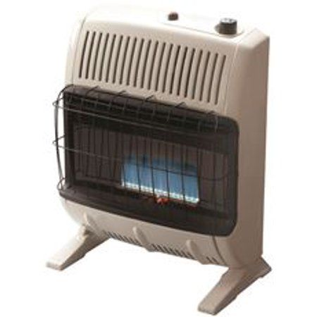 Home Improvement Propane Gas Heaters Blue Flames Portable Heater