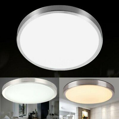 Sponsored Link 12 24w Moderm Round Led Ceiling Light Home Bedroom Kitchen Mount Fixture Us In 2020 Led Ceiling Lights Led Ceiling Ceiling Lights