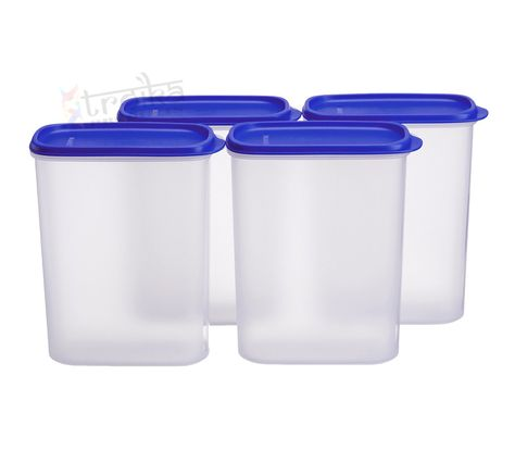 Online Tupperware Smart Saver 4 2 3 Ltr Set Of 2 Tupperware Plastic Containers Food Containers