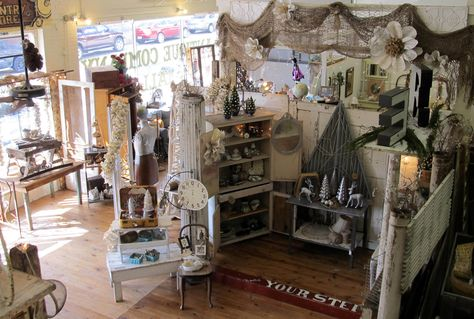 burlap and page roses at The Antique Company Mall- McKinney, Texas
