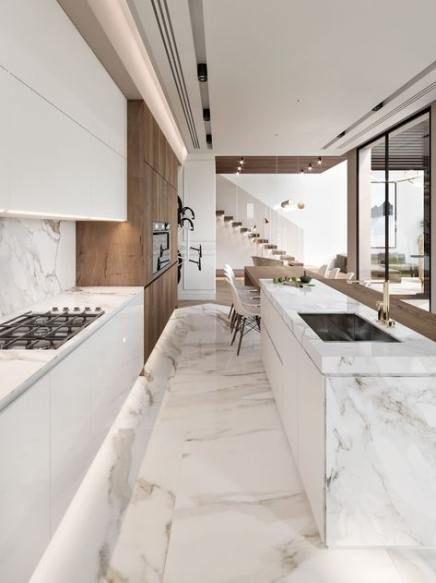 38 Trendy Ideas For Kitchen Modern Small Loft Luxury Kitchen Design Modern Kitchen Design Interior Design Kitchen